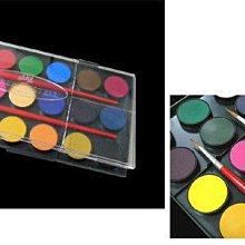 德國輝柏FABER-CASTELL 21色水彩餅~附贈調色盤和水彩筆!
