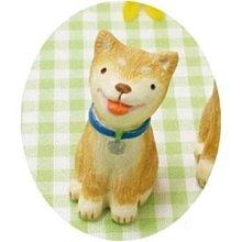 《散步生活雜貨-鄉村散步》日本進口 Everyday's 可愛動物系列 賞櫻花 柴犬S擺飾4008388-01