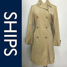 【皮老闆二店】樂878 二手真品 狀態良好 SHIPS 大衣 風衣