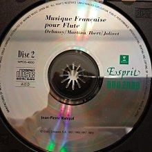 Rampal,Musique Francaise Pour Flute,Debussy,Frank,Poulenc,Martinu etc,朗帕爾演繹法國長笛樂