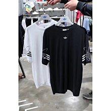 本週特價 ADIDAS 三葉草 男女運動休閑刺繡短袖情侶款 韓版寬松tee圓領T恤
