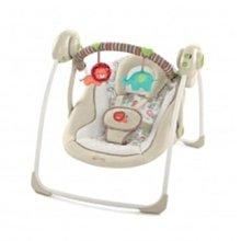 小踢的家玩具出租*A1428 Kids II微笑熊可攜式電動搖椅/搖床/鞦韆~請先詢問