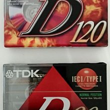 TDK  空白錄音帶  90分鐘、120分鐘各一捲,合買兩捲160元,不拆賣