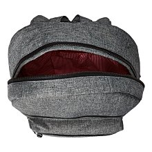 Herschel Settlement 大型 灰黑 黑色 條紋 金屬拉鍊 筆電夾層 大容量 後背包 [現貨]