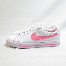 NIKE COURT LEGACY (GS) 大童鞋 休閒鞋 DA5380103 白粉【iSport愛運動】