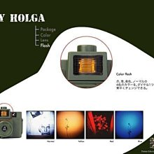 日本 Superheadz Army Holga 120CFN-X Lomo Style 軍綠機身 四色閃燈
