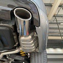 Benz W204 C300原廠排氣管中尾段 原廠排氣管尾段 消音桶