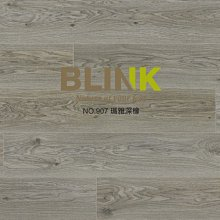 【BLINK】趨勢系列 超耐磨卡扣木地板 NO.907瑪雅深橡(連工帶料/坪)