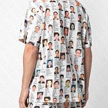 【WEEKEND】 MOSTLT HEARD RARELY SEEN MHRS 滿版 人像 短袖 T恤 白色 多色