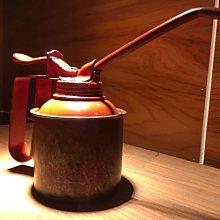 古董 氣壓 油壺