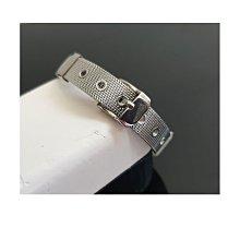 簡約港風復古男女網狀銀色不銹鋼手環情侶錶帶手鍊【YD0048】 - 崔可小姐