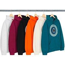 【美國鞋校】預購 SUPREME FW20 Chenille Appliqué Hooded Sweatshirt 帽T