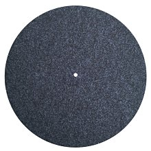 全新加厚3MM灰色羊毛墊 12寸唱片墊 轉盤軟毛氈 減震黑膠墊 遇見良品J9056U