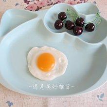 【遇見美好雜貨】A60101 童趣的Hello kitty 分格盤/早餐盤 /二色可選/淺藍色下標區