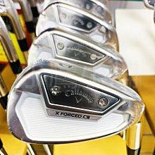 [小鷹小舖] Callaway Golf X FORGED CB IRONS 卡拉威高爾夫 鐵桿組 I5-9,P 共6支
