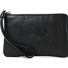 (雅峰精品) COACH 3580 馬車壓印LOGO 真皮 零錢包 手機包 手拿包