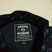 GRAND SCHEME 滿版印花襯衫 S 9.5成新