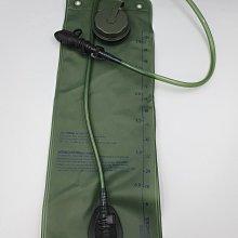3公升水袋軍綠色軟式水袋可搭配軍用戰術背包各種登山水袋背包CAMELBAK背包也可用