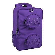 LEGO 樂高 ®Brick 紫色 積木磚背包  背包 開學書包 大容量 小學生書包 護脊書包 防水安全