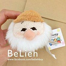 歐洲迪士尼商店 現貨》白雪公主系列的小矮人-土色帽 Tsum Tsum S號