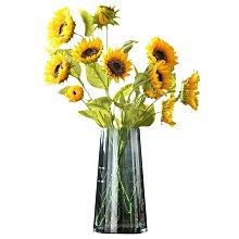 〖洋碼頭〗現代簡約透明玻璃花瓶擺件客廳插花創意花器北歐家居飾品水培花瓶 ywj536