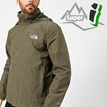 「i」【現貨】The North Face 軍綠 Sangro 防風雨透氣 兩層DryVent 可收連帽 風衣外套