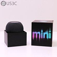 【US3C-台中店】台灣公司貨 Apple HomePod Mini 智慧揚聲器 Siri 支援即時調音 360度環繞聲場 原廠保固至2022年06月10日