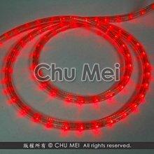 220V-紅光LED三線非霓虹燈50米 - led 燈條 彩虹管 圓三線 非霓虹 水管燈 聖誕燈 管燈 條燈 裝飾燈