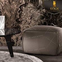 【爵品訂製家具】MF-C1-30 復刻現代菱格紋造型牛皮矮凳《 免費諮詢空間整體配置設計、專屬客制傢俱》