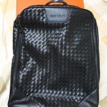 【REIS LOUIS 李斯路易斯】素手工編製牛皮後背包(原價4萬多)