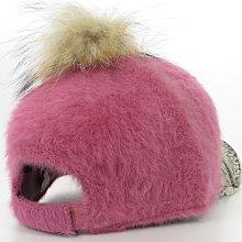 【秋冬毛球暖風格☆D102☆兔毛造型棒球帽】帽子專賣店