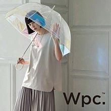 日本Wpc. PT-031 粉嫩好氣色 極光鳥籠傘 IG話題焦點網美傘