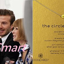 Dogeared Circle 金豆豆項鍊 貝克漢女兒哈珀款 富足圓滿 許願項鍊