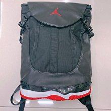 Rare Air Jordan XI 喬丹11代極稀少已絕版後背背袋 ~ 全新公司貨11代經典配色+輕便後背背袋 ~ 購入多時未使用