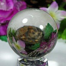 孟宸水晶 = A9034  (100%天然超清透茶黃水晶球493克)