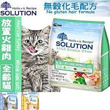 【🐱🐶培菓寵物48H出貨🐰🐹】耐吉斯》超級無穀火雞肉全齡貓/成貓/高齡貓飼料-3kg特價:749元自取不打折