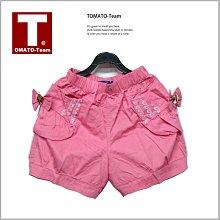 《蕃茄丁》出清150CM//側邊口袋 棉質短褲【GH1530】//中大女童