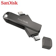 SANDISK 64G iXpand Luxe 旋轉隨身碟 iOS OTG 手機適用  (SD-IXP-70N-64G)