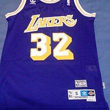 adidas NBA Magic Johnson 湖人隊 美版 復古 球衣 洞洞