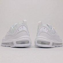 """D-BOX  Nike Air Max 98 """"All White"""" 640744-100 鋼彈 氣墊 純白 慢跑鞋"""