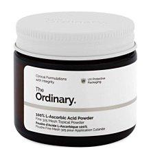 路克媽媽英國🇬🇧代購 現貨 THE ORDINARY維他命C粉100% L-Ascorbic acid powder 20g(正品附購證)