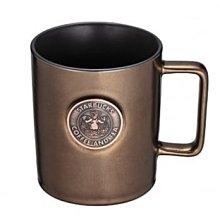 《琉璃生活》星巴克 starbucks 古銅金復古女神馬克杯 16OZ 古銅金 奶茶棕 生日禮物 新年禮物 交換禮物