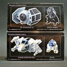 參號倉庫 現貨 P-Bandai 星際大戰 盒玩 R2D2 R2-D2 + X翼戰機 + 黑武士 + 鈦戰機 達斯維達