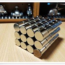 超強力圓柱磁鐵20mm x 20mm - 磁力超猛小心使用