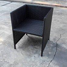 [ 晴品戶外休閒傢俱館] 餐椅 編藤餐椅 戶外椅 庭院椅 休閒椅
