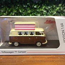 1/64 Schuco Volkswagen VW T1 Camper 452026600【MGM】