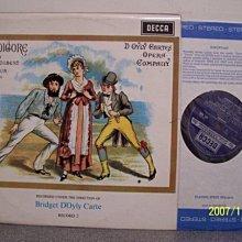 【DECCA LP名盤】14-2.Gilbert and Sullivan:Ruddigore,Godfrey/New Promenade,2LPs
