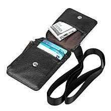 【喜番屋】真皮頭層牛皮防盜刷掛脖卡片包卡片夾證件包證件套【CB105】
