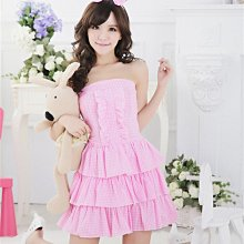 Cute Maid Dress Waitress Uniform Cosplay Costumes Outfit
