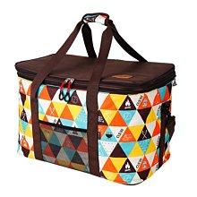 大容量野營包(可調節高度)50-60L (附肩背帶) //大容量野營收納袋 雜物收納 露營手提包 自駕旅行野餐包